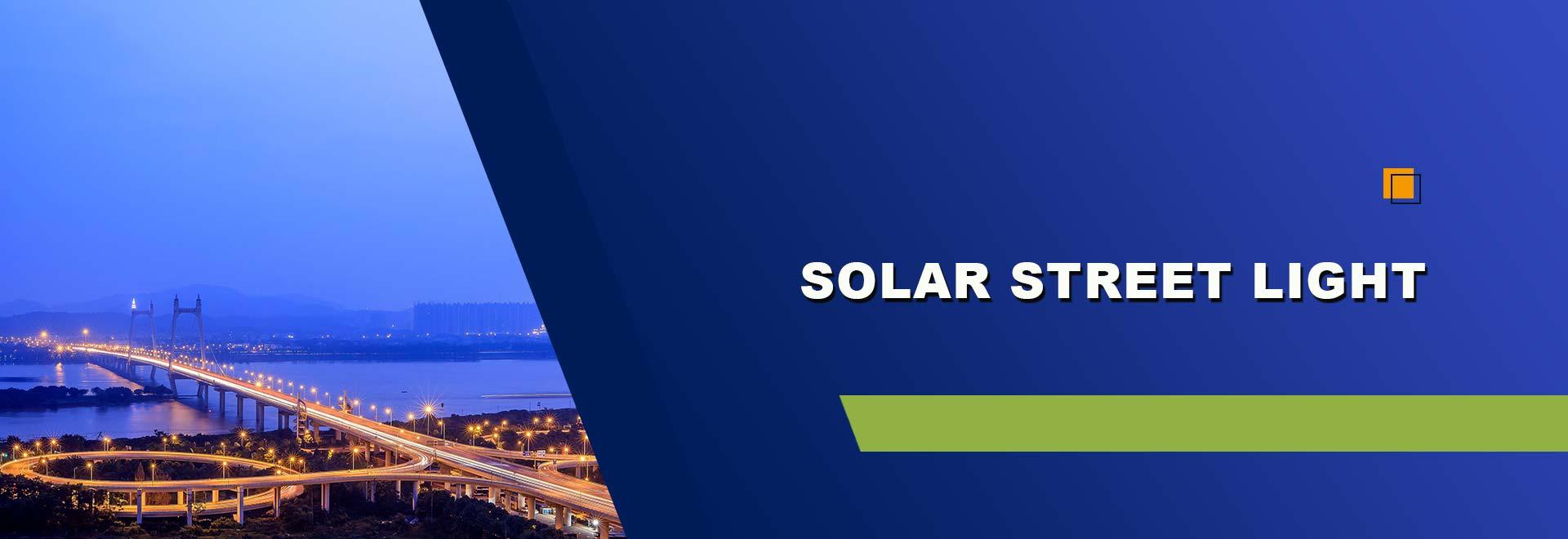SOLAR STREER LIGHT