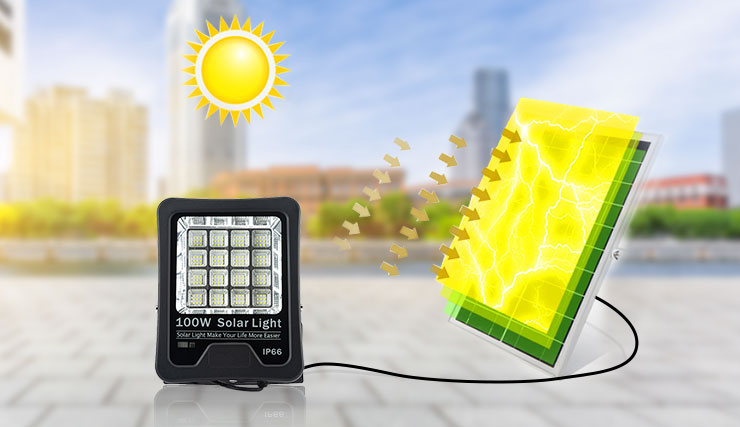 LED CHIP+SOLAR PANEL