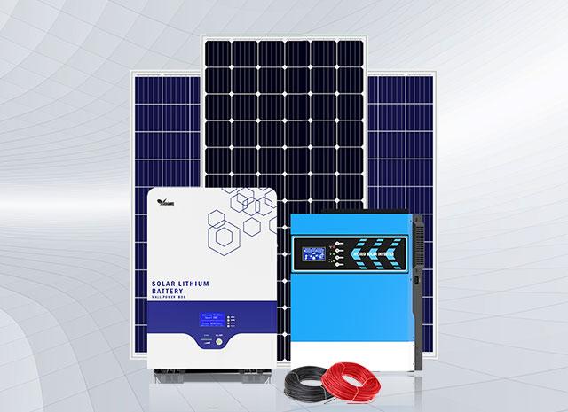 3-5.5KW Off-Grid Solar System