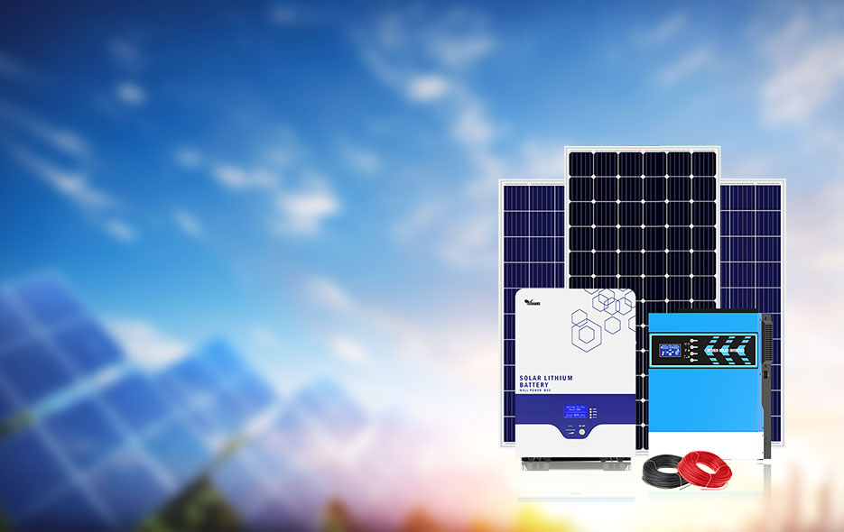 3-5.5KW Solar Power System