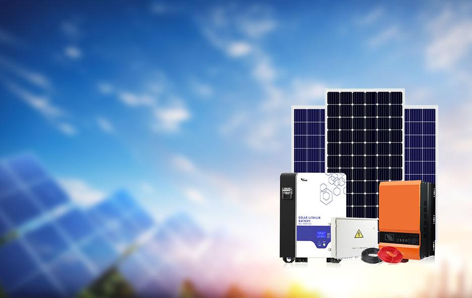 8-10KW Off-Grid Solar System