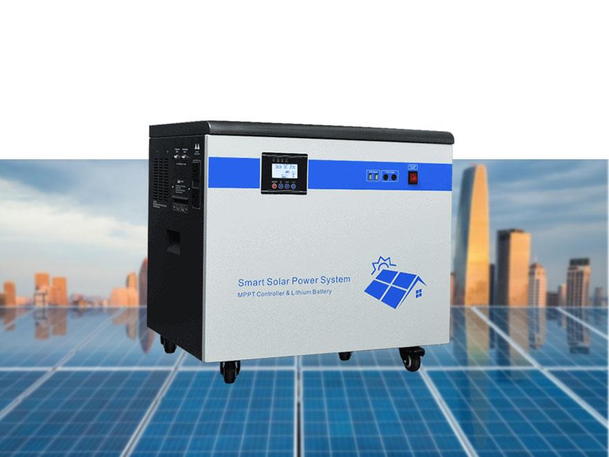 Lithium Battery Solar Storage System