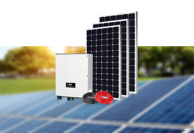 Home On-Grid Solar Power System