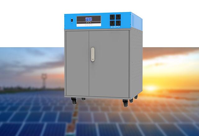 Hybrid Smart Solar Storage System