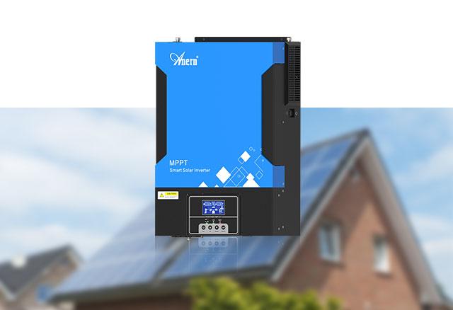 Hybrid MPPT Controller-Inverter