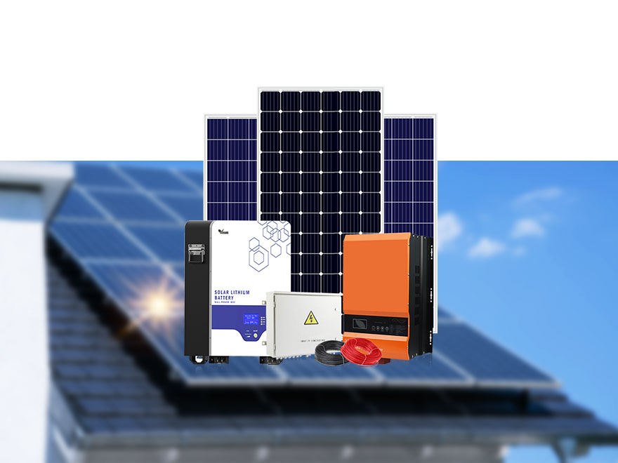 8-10KW Off-Grid Solar Power System